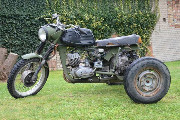 Części do motocykli z byłej NRD