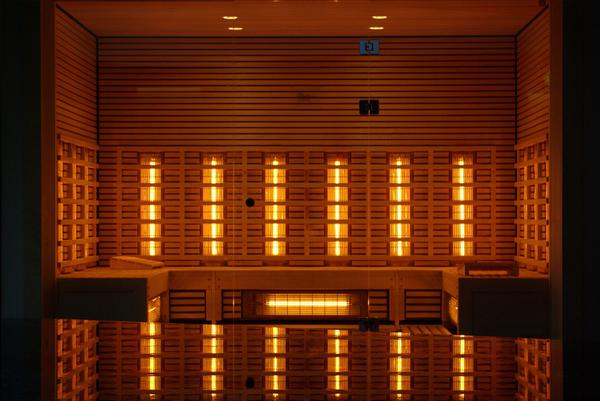 Lecznicza sauna infrared